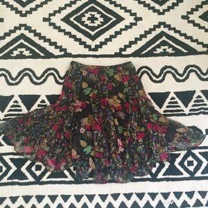 [Ralph Lauren] NWOT Floral Handkerchief Skirt
